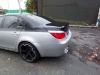 Exhaust on BMW 5-series Side