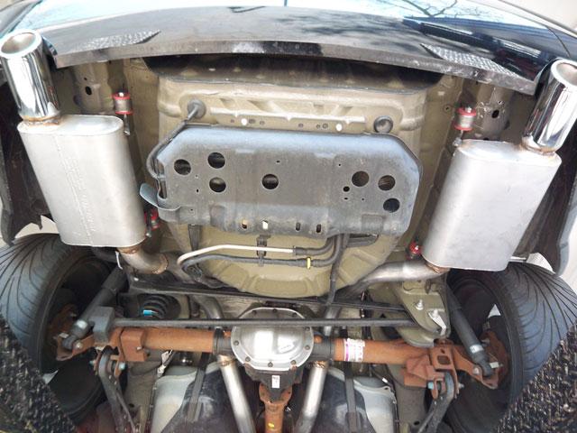 2005+ Mustang GT Flowmaster mufflers