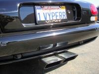 Viper Exhaust Closeup