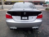 Exhaust on BMW 5-series Rear
