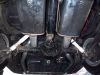 Magnaflow mufflers on a classic Mustang